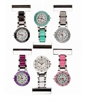 Photo of a 2-Tone Metal Nurses Fob Watches
