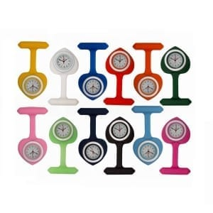 Photo of heart shaped nurses fob watches