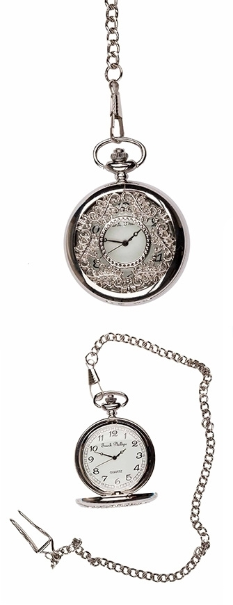 Photo of a Silver Filigree style Pocket Watch