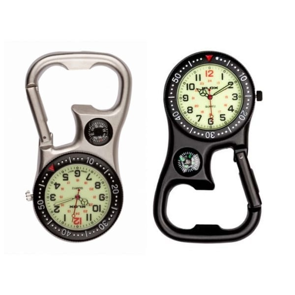 Photo of compass bottle opener belt fob watches luminous dial