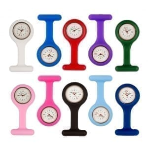 Photo of Round Face Nurses Fob Watches with Date